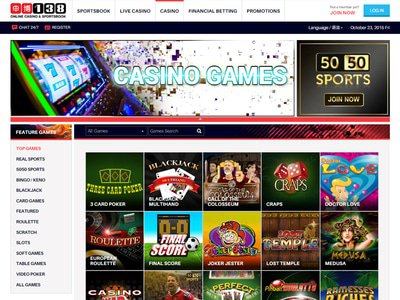 138Bet Casino site captures d