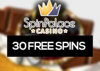 30 Free Spins offerts sur Spin Palace