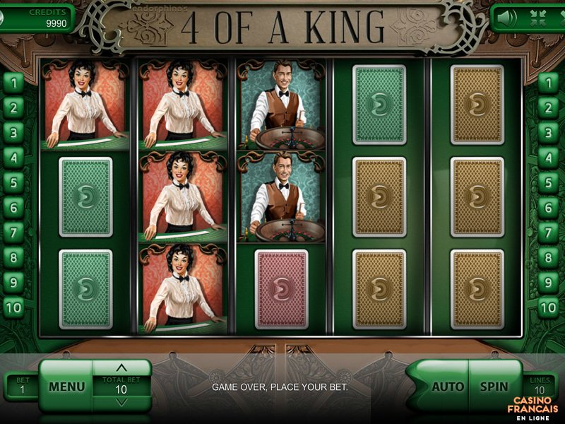 jeux 4 of a King