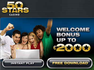 50Stars Casino site captures d