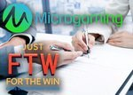 Accord de distribution entre Microgaming et Just for the Win