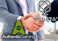 Authentic Gaming et Codeta s'associent