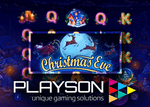 Christmas Eve : Nouvelle machine à sous de Playson