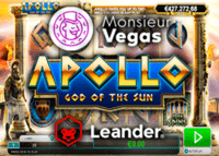 Leander Games lance la machine à sous Apollo God of the Sun