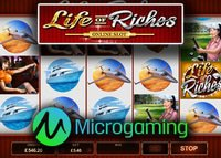 Machine à sous Life of Riches de Microgaming bientôt lancée