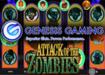Nouvelle machine à sous Attack Of The Zombies de Genesis Gaming