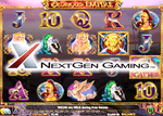 Nouvelle machine à sous de casino en ligne Glorious Empire de NextGen