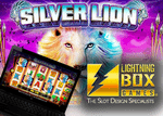 Nouvelle machine à sous Silver Lion de Lightning Box