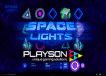 Nouvelle machine à sous de casino en ligne : Space Lights de Playson