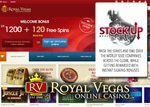 Promotion Actions en Bourse sur le casino en ligne Royal Vegas