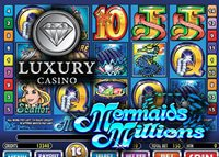 Promotion Mermaids Millions sur Luxury Casino