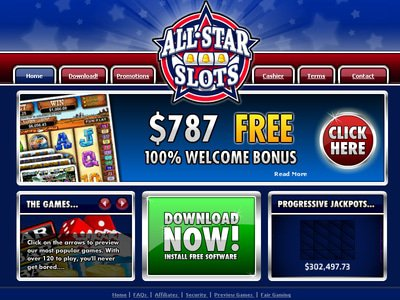 All Star Slots site captures d