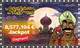 Arabian Nights - 8 635 872 € Jackpot