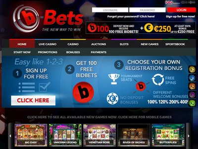 b-Bets Casino site captures d
