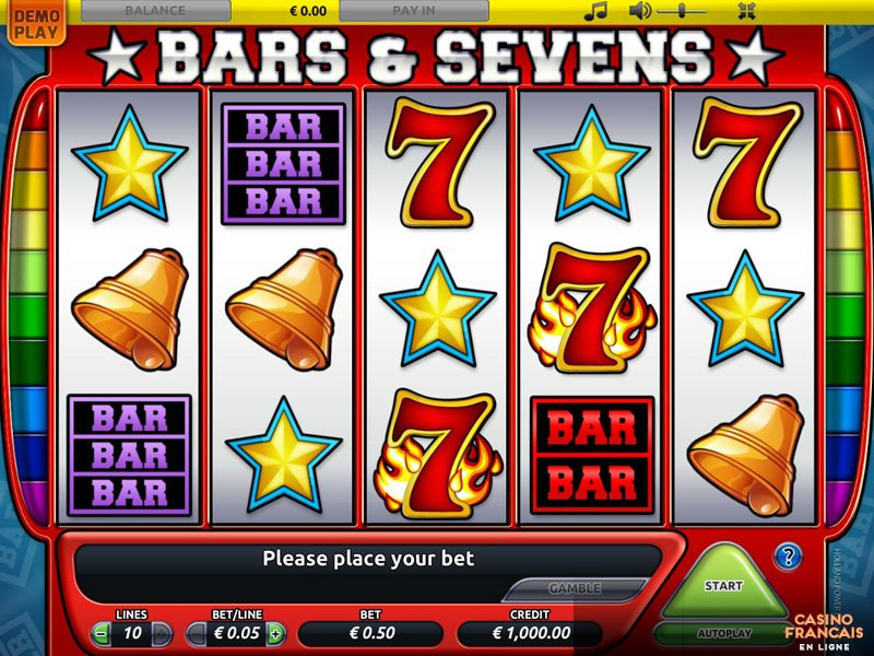 jeux Bars and Sevens