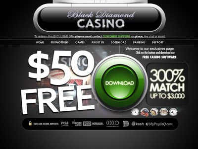 Black Diamond Casino site captures d