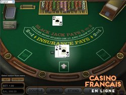 jeux European Blackjack