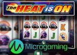 Bonus sans dépôt de 10 £ sur la machine à sous The Heat is On