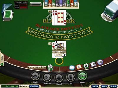 Breakaway Casino logiciel captures d