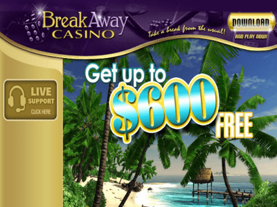 Breakaway Casino site captures d