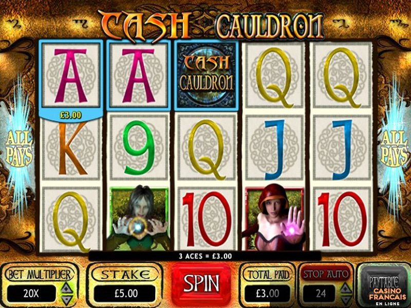jeux Cash Cauldron