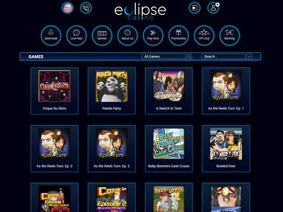 Casino Eclipse logiciel captures d