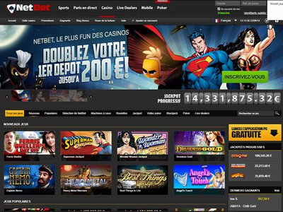 Casino NetBet site captures d