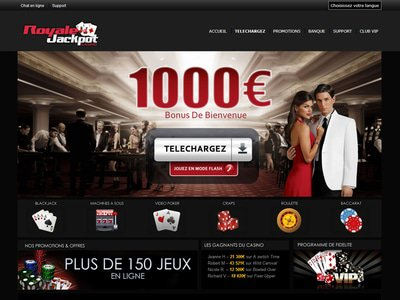 Casino Royale Jackpot site captures d