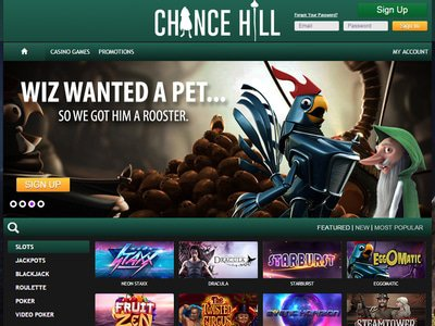 ChanceHill Casino site captures d
