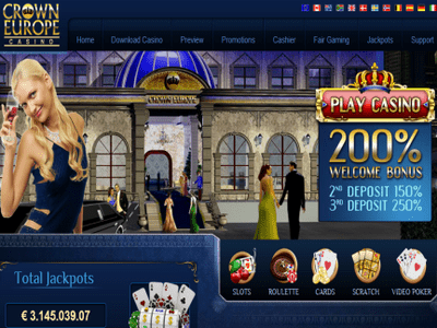 Crown Europe Casino site captures d