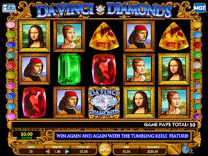 jeu de Da Vinci Diamonds