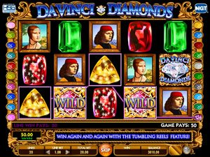 Da Vinci Diamonds machine a sous