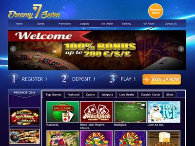 Dreamy Seven Casino site captures d