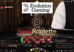 Evolution Gaming lance la Speed Roulette