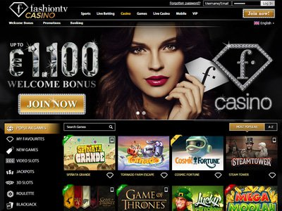 Fashion TV Casino site captures d