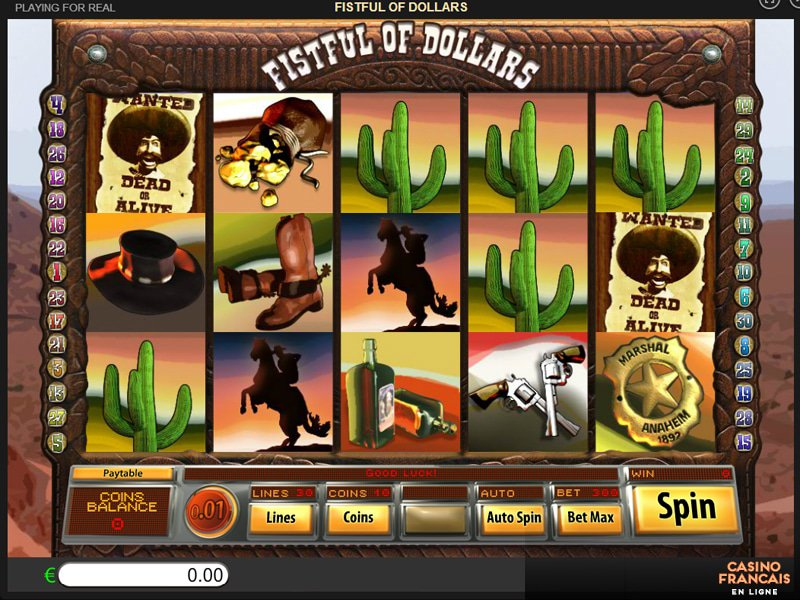 jeux Fistful Of Dollars