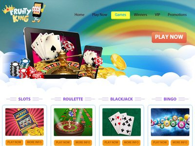 Fruity King Casino logiciel captures d