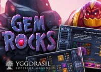 Gem Rocks : Nouvelle machine à sous de Yggdrasil Gaming