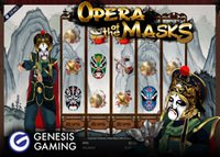Genesis annonce la sortie de la machine à sous Opera Of the Masks