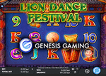 Genesis Gaming lance la machine à sous Lion Dance Festival