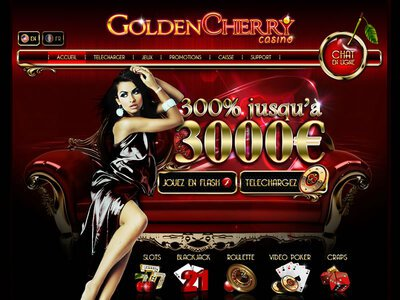 Golden Cherry Casino site captures d