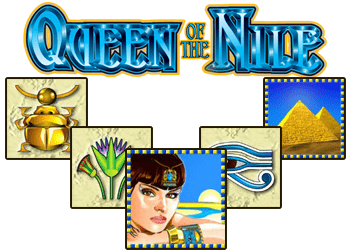 fonctionnalités machine queen of the nile