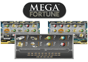 machine à sous mega fortune
