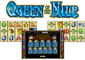 machine à sous queen of the nile