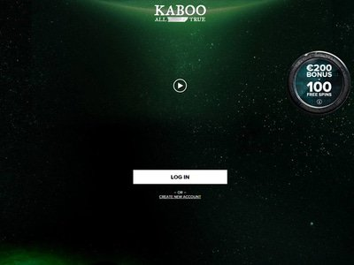 Kaboo Casino site captures d