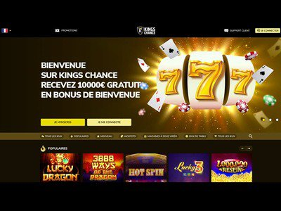Kings Chance Casino site captures d