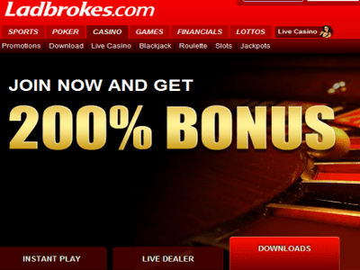 Ladbrokes Casino site captures d