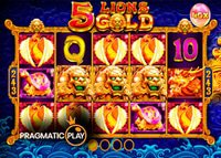 Machine à sous 5 Lions Gold bientôt disponible