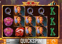 Lancement de la machine à sous Ark Of Mystery de Quickspin