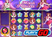 Lancement de la nouvelle machine à sous Moon Princess de Play'N Go
